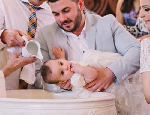 Catholic christening documentary photography – Ava