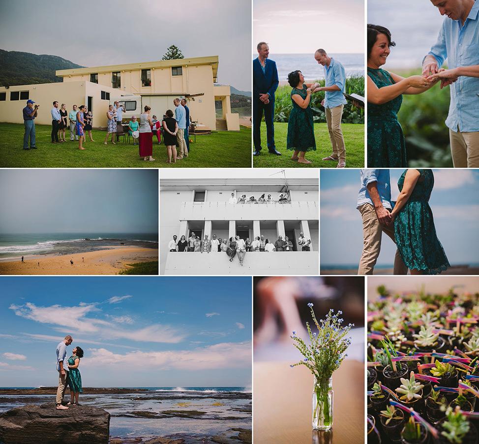 Prue Vickery Sydney Unposed Wedding Photographer Wollongong Beach