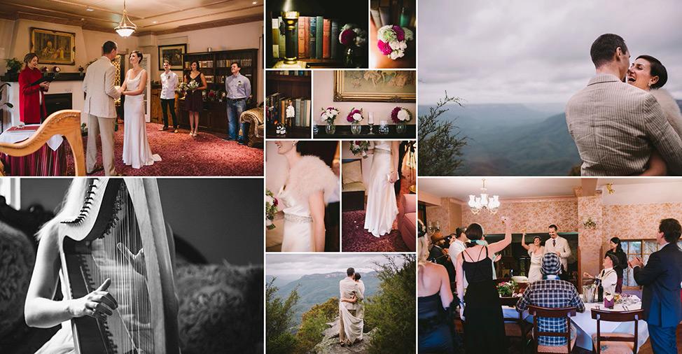 Prue Vickery Sydney Unposed Wedding Photographer Hotel Blue Katoomba