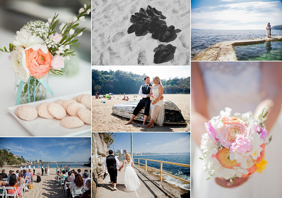 Prue Vickery Sydney Unposed Wedding Photographer Shelly Beach Manly