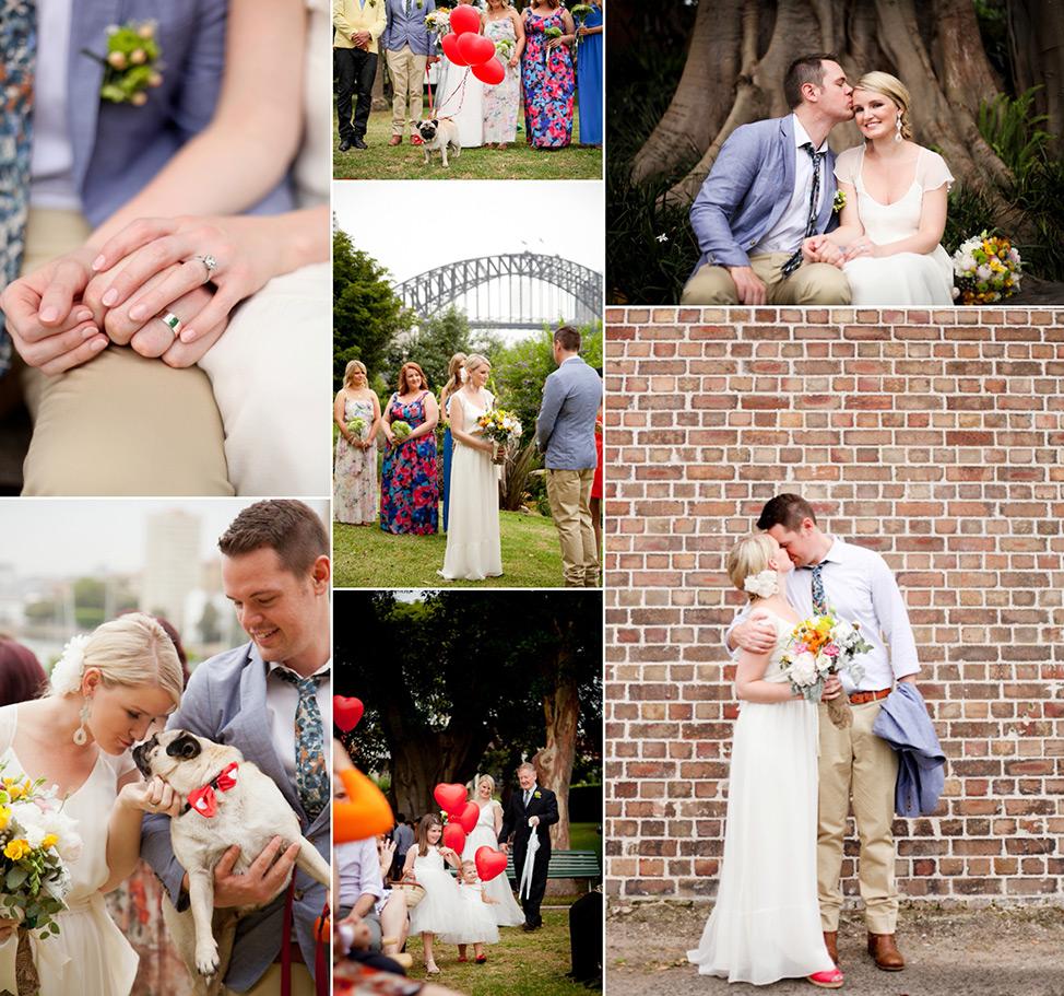 Prue Vickery Sydney Unposed Wedding Photographer Clark Park North Sydney