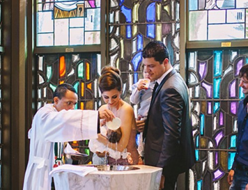 Unposed christening photography – Our Lady of Rosary Parish
