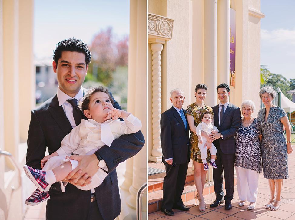 Prue Vickery Sydney Catholic Baptism Photographer Unposed Relaxed