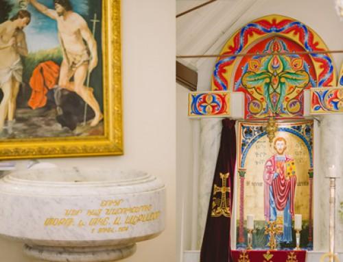 Unposed Orthodox Christening Photography – Chatswood Armenian Apostolic Church