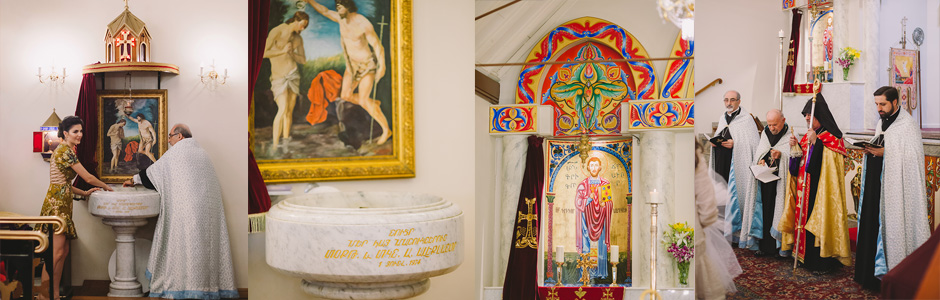 Unposed Orthodox Christening Photography – Chatswood Armenian Apostolic Church